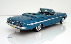 1961 Chevrolet Impala Convertible (JCarnutz) Tags: 124scale diecast wcpd 1961 chevrolet impala