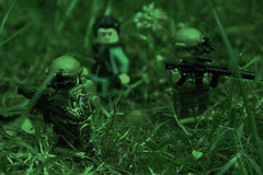 Night Time Recovery (LegoInTheWild) Tags: moc afol lego minifigure sidan brickarms