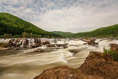 Water, Water Everywhere (John H Bowman) Tags: westvirginia raleighcounty waterfalls westvirginiawaterfalls sandstonefalls riversandstreams newriver mountainviews may2015 may 2015 canon16354l explore