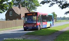 Brylaine Travel (Hesterjenna Photography) Tags: brylaine brylainetravel transport travel yj04cct bus psv coach boston lincolnshire lincs optare optaresolo