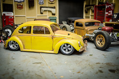 Tamiya M06 Volkswagen Beetle Patina-2 (Strangely Different) Tags: rceveryday rcengineering scaler scalerc hobby tinytrucks tamiya rc4wd axial m06 mini vw volksrod volkswagenbeetle patina lexan