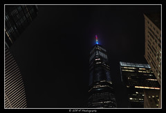 2018.06.23 Freedom Tower rainbow 9 (garyroustan) Tags: ny nyc newyore freedom tower gay pride lgbt month gaypride night usa