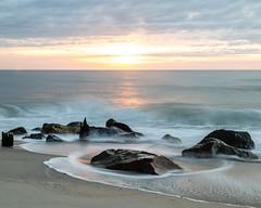 Slow Down Sunrise (aka Buddy) Tags: 2018 summer sunrise beach atlantic ocean seabright nj og le