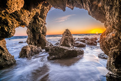 Malibu California Ocean Sea Cave Sunset! Epic Pacific Beach Landscape Nature Photography! Sony A7R2 Carl Zeiss Sony Vario-Tessar T* FE 16-35mm f/4 ZA OSS Lens SEL1635Z E mount Lens! Long Exposure Fine Art Landscape Seascape HDR Elliot McGucken Photography (45SURF Hero's Odyssey Mythology Landscapes & Godde) Tags: malibu california ocean sea cave sunset epic pacific beach landscape nature photography sony a7r 2 carl zeiss variotessar t fe 1635mm f4 za oss lens sel1635z e mount long exposure fine art seascape hdr