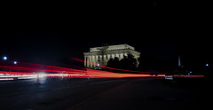 Lincoln Memorial (brian.swogger) Tags: motion light night background speed traffic urban car abstract fast street trail highway road line blur dark glow movement exposure transport drive long transportation bright evening tunnel black vector effect vehicle move red way city modern flash illustration travel building neon twilight backdrop blue glitter skyline time space flare busy