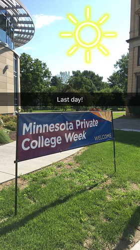 Last day of MN Private College Week