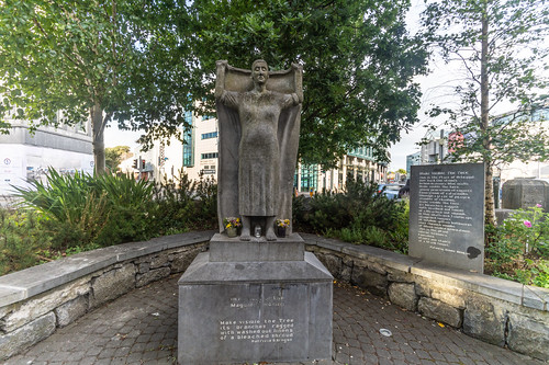 Magdalen Laundry Sculpture In Galway [Final Journey By Artist Mike Wilkins]-142209