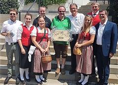 2018-07-08 Schweiz Walchwil am Zugersee - Hainfeld Stadtkapelle