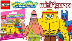 Lego Spongebob Squarepants CMF Series !!! (afro_man_news) Tags: lego spongebob squarepants custom minifigurs series cmf patrick star squidward mr krabs moc fake must wacth new bliand bags plankton karen sandy cheeks gary snail pearl mrs puff squilliam fancyson larry lobster patchy pirate old man jenkins dirty bubble all charcthers ray