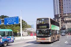 KMB Volvo B10TL 10.6m LR3042 8A (Thomas Cheung Bus Photography) Tags: bus hong kong public transport mass transit street volvo b9tl kmb kowloon motor double decker doubledecker superolympian super olympian alexander alx500
