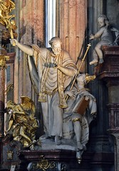 Prag-St.Nikolaus 15 (fotomänni) Tags: prag praha prague kirche church eglise stnikolaus sakralfotografie sakralekunst skulptur skulpturen sculpture manfredweis