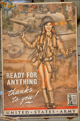 Propaganda Pinups - U.S. Army (Dietz Dolls Pinup Photography) Tags: 1940s 82ndairborne airborne army beautiful cute girl grunt legs military militarygirl model modelphotography parachute paratrooper photography pinup pinupart pinupgirl pinupmodel pinupphotography retro retropinup sexy usarmy vintage woman worldwar2 ww2 101stairborne vintagepinup warbonds militarypinup ww2worldwar2 1940spinup ww2pinup armyairborne armyinfantry armygrunt jumpjacket