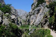 RUTA DEL CARES - EL PUENTE BOLIN (mflinera) Tags: ruta del cares montañas paisaje senderismo asturias y leon rio