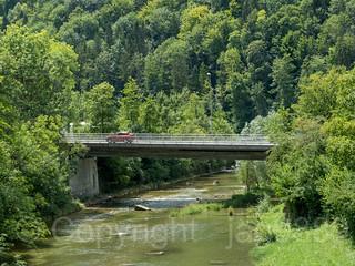 SIH440 Gattikonerstrasse Road Bridge over the Sihl River, Gattikon - Langnau am Albis, Canton of Zurich, Switzerland