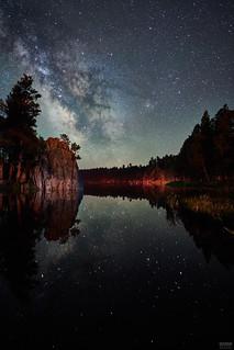 Milky Way Reflected