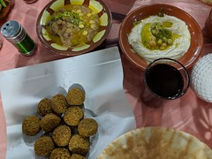 Felafel, Hummus and Pita (david_e_waldron) Tags: jordan amman