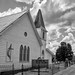 Last Service: a small town church. (Dave_Bradley) Tags: church black white bw outdoor olympus pennsylvania usa holy place worship