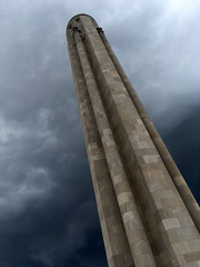 Liberty Memorial (mdhorns) Tags: travel kansascity missouri museum memorial architecture storm clouds