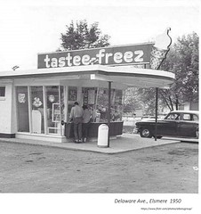 Tastee Freeze ice cream stand  delaware ave  elsmere (albany group archive) Tags: 1950s old albany ny vintage photos picture photo photograph history historic historical