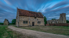 Willington Stables (haydnclarke) Tags: willington bedford bedfordshire church stables dovecote long exposure landscape old buildings blue sky wide angle