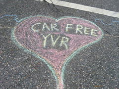 Car Free YVR (knightbefore_99) Tags: car free day chalk street dirt pollution ugly italian italy yvr city commercialdrive vancouver summer eastvan event