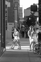 Ann Arbor (DJ Wolfman) Tags: annarbor annarbormi michigan blackandwhite people street streetshots streetphotography streetscene