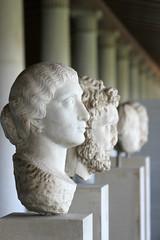 Bustes (olivier.ghettem) Tags: athens athènes greece grèce europe europedusud ancienneagora antiquité antiquity antique bustes