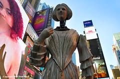 Times Square Jenny Lind (Trish Mayo) Tags: melchin jennylind sculpture art timessquare publicart