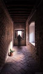 Asomada (invesado) Tags: nikond750 texturas rincones luz asomada ventanas iglesia toledo marrones
