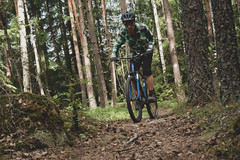 MTB 2 (Mytacism) Tags: mountainbiking bike mtb enköping forest nikon d610 50mm 18 self timer color colour cykling woods trail climbing