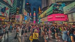 So Many Stories (justenoughfocus) Tags: newyork newyorkcity sonyalpha manhattan night nightphotography nyc streetphotography timessquare travel travelphotography unitedstates urbanexploration urbex us
