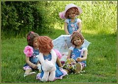 Kindergartenkinder ... (Kindergartenkinder 2018) Tags: kindergartenkinder annette himstedt dolls milina annemoni tivi sanrike