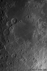 Nectaris Basin (Zeta_Ori) Tags: moon luna lunarlandscape lunarmare selene marenectaris rupesaltai explorescientificed80apo explorescientific3xfocalextender celestronadvancedvxmount zwoasi290mm registax autostakkert3 sharpcap31 monochrome blackandwhite texture contrast crater impactbasin