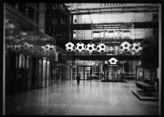 It's football (soccer) time !!! (CTfoto2013) Tags: decor intérieur hotel indoors cityscapes allemagne germany europe atmosphere mood ambiance coupedumonde worldcup blancoynegro ballons balls soccer noiretblanc blackandwhite iphone hipstamatic