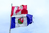 Northwest Territories Flag (Kristaaaaa) Tags: canada fortgoodhope northwestterritories nwt travel fujifilm northern fgh north spring flag