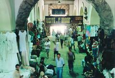 Mercado | Salvador, Brazil (1992) (Henry Hemming) Tags: mercadomodelo market salvador brasil brazil people busy blur sharp shopping activity nineties 1990 1990s