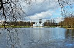 Tsarskoie selo - vue sur le pavillon de la grotte (lecocqfranck) Tags: pavillon grotte tsarskoie selo