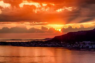 Ã…lesund sunset @ Norway 2018