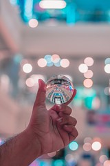 Balls of fury (ibtihajtafheem) Tags: lensball lensballphotography crystalball crystalballphotography glassball mirror up tones tonesoflife streetvision vision visual visuals