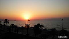 Amanecer. ROQUETAS DE MAR. (José Hijano Comino) Tags: ©josehico canoneos1000d almeria roquetasdemar verano agua amanecer mar playa sol españa es