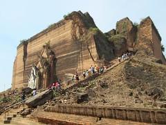 Pahtodawgyi Pagoda (D-Stanley) Tags: pahtodawgyi mingun mandalay myanmar burma pagoda king bodawpaya