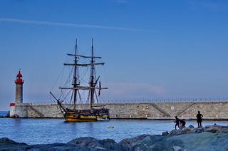 499 - Bastia à travers le Vieux Port