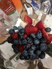 The Smoothie Before (earthdog) Tags: 2018 food smoothie edible fruit berry blueberry googlepixel pixel androidapp moblog cameraphone strawberry