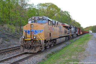 UP 7405 GE C45ACCTE (961)