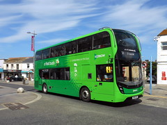 First Kernow, 33312 (WK18 CGU) (miledorcha) Tags: first kernow south west england cornwall newquay 33312 bus group wk18cgu adl alexander dennis enviro 400 mmc buses service local route psv pcv