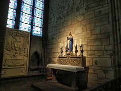 P5270806 (photos-by-sherm) Tags: notre dame cathedral paris france summer interior organ music chapels statues artwork carvings windows people