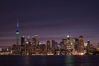 Dusk in Toronto