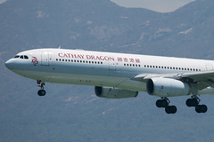 B-LAA A330-300 Cathay Dragon (JaffaPix +5 million views-thanks...) Tags: blaa a330300 a333 a330 330 airbus cathaydragon hda hkg vhhh hongkong cheplapkok aeroplane aircraft airplane airline airliner aviation flying flight davejefferys jaffapix jaffapixcom