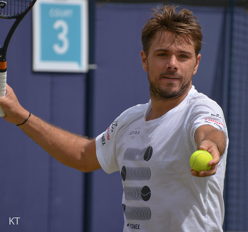 Stanislas Wawrinka - At your service