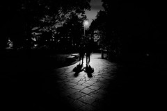 Two persons (Sat Sue) Tags: gx7mk2 gx80 gx85 japan fukuoka shadow silhouette